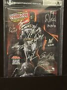 2010 Nycc Comic-con Guide Signed 10x With Legends R.i.p. Trimpe-colan-kubert +