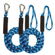 2pack Bungee Dock Line Boat Mooring Rope Cord Stretch Black