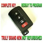 Lot Of 5 New Smart Key For 201419 Toyota Corolla Remote Fob Prox Keyless 0020 G