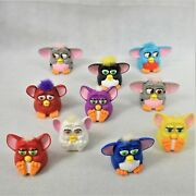 Tiger Electronics Mcdonalds Happy Meal Furby's Assortment Of 10 Toys Preowned