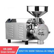 Herbs Spice Corn Cereal Powder 3000w Commercial Electric Grain Mill Machine