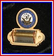 Lot Of 21 Holders Army Navy Air Force Marine 21 Gun Funeral Shell Casing Holder