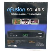 New Nfusion Solaris Digital Satellite Receiver Model Rs-232c For Home Use Sealed