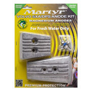 Martyr Magnesium Anode Kit For Volvo Penta Sx-a Dps-a Sterndrive Lower Unit