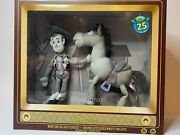 Disney Toy Story 25th Anniversary Woody And Bullseye Plush Set Limited Release
