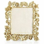 Jay Strongwater Aria 8 X 10 Dutch Floral Picture/photo Frame