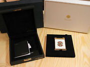 S.t. Dupont Paris Limited Edition 2006 Opus X 2006 Table Lighter Red / White New