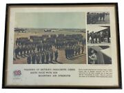 Ww2 British Airborne Recruiting Poster Early Original Framed