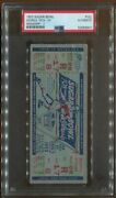 Psa Ticket Football 1953 Sugar Bowl Georgia Tech Mississippi 1/1 Full