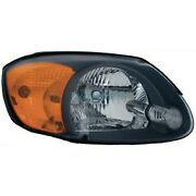 New Right Head Light Assembly Fits 2003-2006 Hyundai Accent Hy2503128