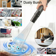 Vacuum Cleaner Brush Dust Dirt Remover Suction Brush For Vents Keyboards Cars Us