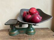 Antique Standard Balance Scale-counter Balance General Store Scale-candy Scale