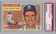 Danny O'connell 1956 Topps 272 Psa 8 Nm-mt
