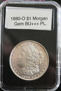 188o-0 1 Morgan Gem Bu++++ Pl And How From An Vintage Roll