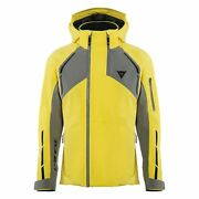 Dainese Hp Icedust Mens Snow Jacket Vibrant Yellow/charcoal