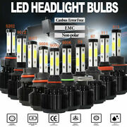 20pairs 4side+canbus Led Headlight H4 H7 H11 H13 9004 9005 9145 9006 9007 5202