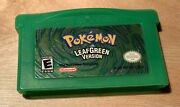 Pokemon Leaf Green Version Game Boy Advance, 2004 100 Authentic Tested Saves
