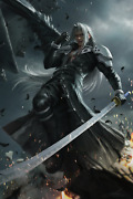 Sephiroth Sword Final Fantasy Poster 24x36 Inches