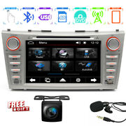 For Toyota Camry 2007-2011 8 Gps Navigation Car Radio Stereo Dvd Cd Player Swc