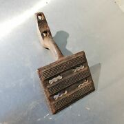 Heavy Antique Cast Iron Tractor Pedal Ca. 1920s