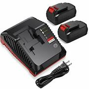 18v Battery Charger Pcxmvc Pcmvc For Porter Cable Cordless Power Tool Li-ion