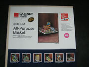 """11@ Cabinet Maid """"cabinet Organizers"""" Kitchen Cabinet Pull Out Wire Basketsnew"""