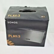 Sonos Play 3 - Mid-sized Wireless Smart Home Speaker For Streaming Music