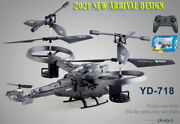 Rc Fighter Avatar Series Yd 718 Double Blades Rtf4ch Big Unique Helicopter Toys