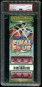 Psa Ticket College Basketball 2002 Final Four Maryland National Champions Full