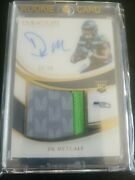 2019 Panini Immaculate Dk Metcalf Seattle Seahawks Rookie Auto Jersey Short...