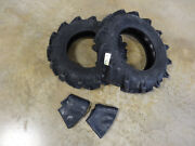Two New 7-14 Bkt Tr-126 Farm Tractor Lug R-1 Tires And Tubes
