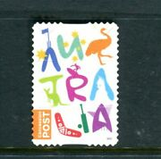 2017 Concession Stamp - Used Booklet Stamp