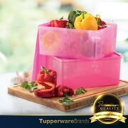 Tupperware Festive Stor N Serve / Containers / Plastic Containers 6.0l 2units