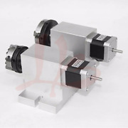 No Tax To Russia Rotary Axis 3 Jaw Chuck 65mm Cnc 4th Axis Harmonic Drive For 3