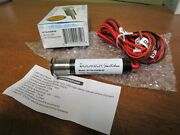 Bocatech Mini Led Power Switch-resettable 10 Adc, On/off Red Bt10ledsw-rf