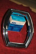 65 Nos Quality Ford Galaxle Tail Lamp Bezel Original Near Flawless Correct