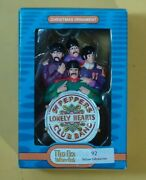 The Beatles. Sgt Pepper Christmas Ornament. 2013. New In Box