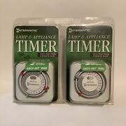Intermatic Lamp And Appliance Timer Tn111c61 Twin Pack Brand New