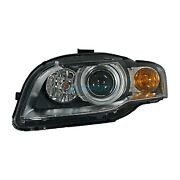 New Right Side Hid Head Light Assembly Fits 2005-2009 Audi A4 Quattro Au2503123