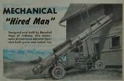 Hay Bale And Grain Elevator Conveyor 1947 How-to Build Plans