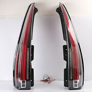 For 2007-2014 Cadillac Escalade/escalade Esv Clear Led Tail Lights Rear Lamps
