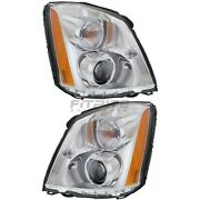 New Left And Right Hid Head Light 2006-2011 Fits Cadillac Dts Gm2502275 Gm2503275
