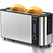 Long Slot Toaster 2 Slice Toaster Best Rated Prime With Warming Rack1.7and039and039extra