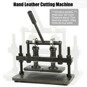 Hand Leather Cutting Machine 26x12cm Double Wheel Photo Paper Pvc/eva Sheet Mold