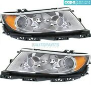 New Left And Right Head Light Fits 2010-12 Lincoln Mkz Fo2502286c Fo2503286c Capa