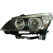 New Left Hid Head Lamp Lens And Housing Fits 2004-2006 Bmw 525i Bm2502124