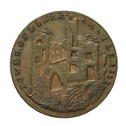 Worcestershire Dudley Penny Token Tower Of Dudley Castle Dandh 5