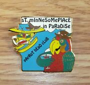 Jimmy Buffet St. Minnesomeplace In Paradise Parrot Head Club Collectible Pin