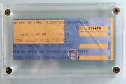 Stevie Ray Vaughan Last Concert Ticket Stub And Day After News August 26th1990
