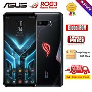 Asus Rog Phone 3 Gaming Smartphone Unlocked Cell Phone 256gb 12gb Ram Android 10